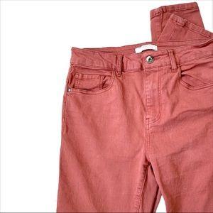 Forever 21 Red/orange Skinny Jeans - Size 27